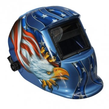 Eagle Solar Powered Power Auto Darkening Argon Arc Welding Helmet Protective Protector Mask