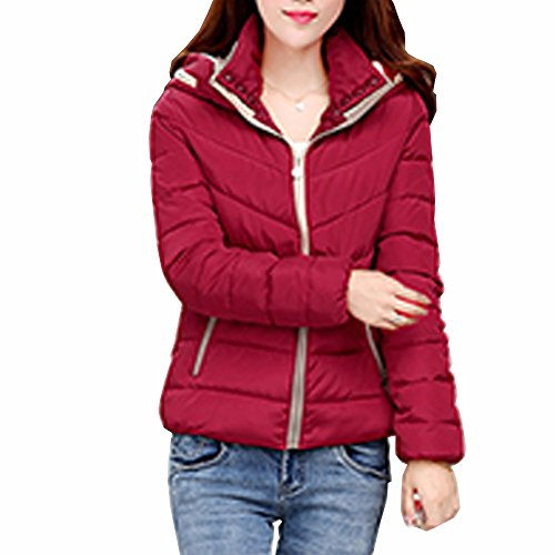Quilted Hooded Coat - 5