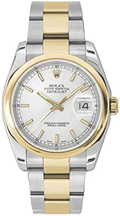 Amazon Com Rolex Oyster Perpetual Datejust Mens Watch 116203 Rolex