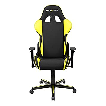 DXRacer FH11 NY Black Yellow Formula Series Racing Bucket Seat Office Chair Gaming Ergonomic with Lumbar Support