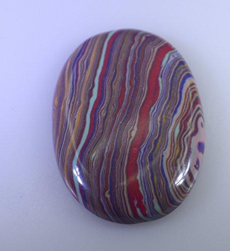 calsilica rouge pierre lâche cabochon ovale 1 pc 19x27 mm strcal-440020