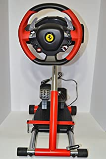 Wheel Stand Pro Red Racing Steering Wheelstand for Original