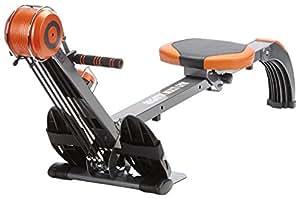 skandika Rudergerät Regatta Multi Gym Poseidon Máquina de Remo, Unisex, Gris, 130 x 45 x 95 cm