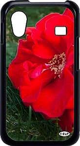 funda rigida case cover for Samsung Galaxy ACE By ELP mind red flower