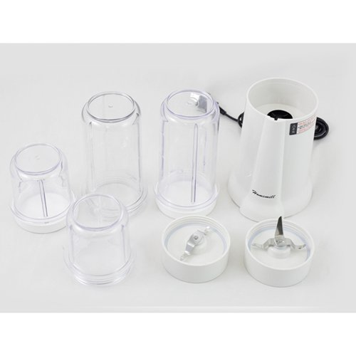 Mini Blender & Mixer with 4 Food Container For Sale