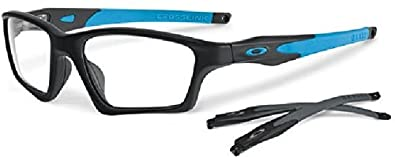 3fd83643932 Amazon.com  Oakley OX8031-0155 Crosslink Sweep Eyeglasses-Satin ...