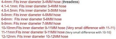 NO LOGO FMN-Gears Taille : 4 4mm PE de qualit/é Alimentaire Droite Joint de Tuyau Raccord de Tuyau Diam/ètre Joint Equal Gladhand for Tuyau Tube Silicone 5pcs