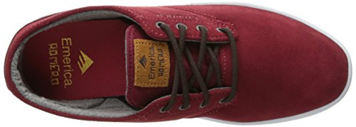 sportive Unisex scarpe 6102000082 Adulto Emerica Burgundy qfwSZIC