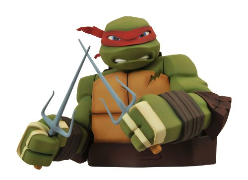 Diamond Select Toys Teenage Mutant Ninja Turtles: Raphael Bust Bank by Diamond Select