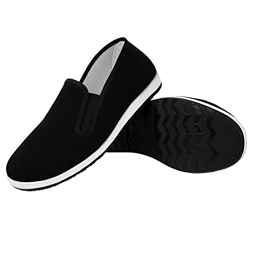 FitsT4 Chinese Old Beijing Shoes Traditional Cloth Kung Fu Tai Chi Shoes Unisex