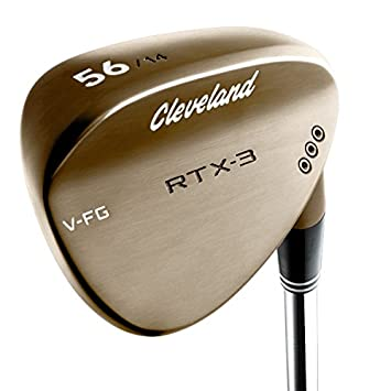 Cleveland Golf Men s RTX-3 VFG Full Bounce Tour Wedge, Raw Heads