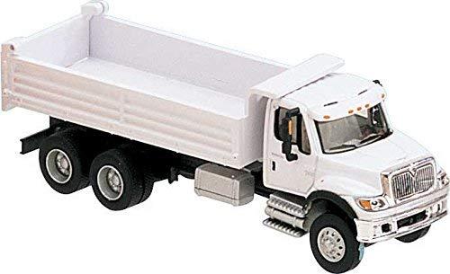 国際( R ) 76003-axle heavy-dutyダンプトラック–Assembled–-ホワイトwith railroad maintenance-of-wayロゴデカールの商品画像