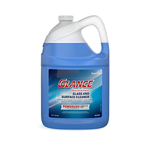 Glass Cleaner Refill (Diversey Glance Powerized Professional Glass & Surface Cleaner, 1 Gallon (2 Pack))