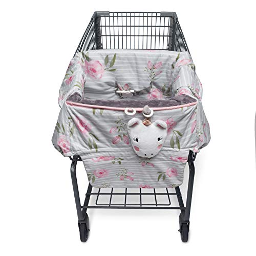 Sensational Boppy Preferred Shopping Cart Restaurant High Chair Cover Pink Unicorn Caraccident5 Cool Chair Designs And Ideas Caraccident5Info