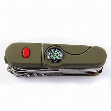 JUNQL amp; Sierras/Otros/compás/abrebotellas/cuchillo/Multi Tools/Alicate/Tijeras camping/multifunción para actividades de exterior de acero Otros: ...