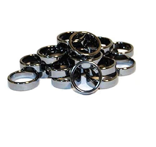 Hematite Rings (20/bag)