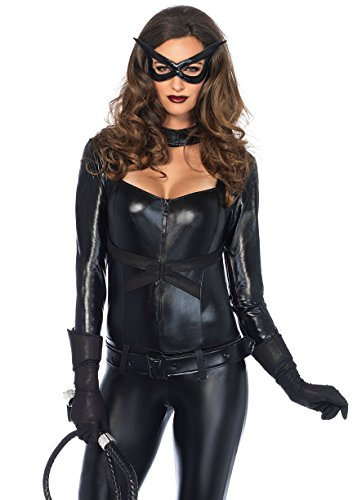 Leg Avenue Women's Cat Girl Jumpsuit Costume ()