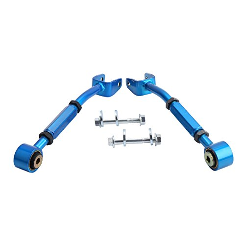 Rear Suspension Camber Arms Kit for Nissan 350Z 370Z Altima and Infiniti G35 G37 Sedan Coupe, Dynofit Rear Adjustable Link Toe Camber Arms Set for 350z 370z and Infiniti Coupe Sedan Suspension Kit ()