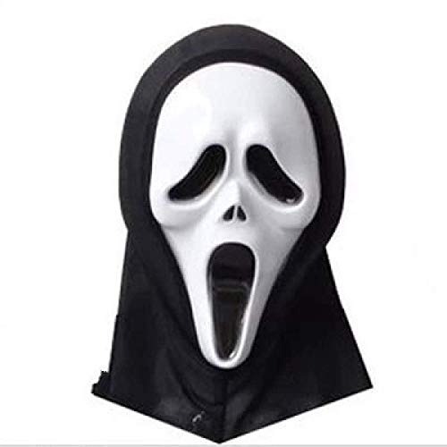 Death Final Destination Scream Skull Ghost Mask Fake Face Multi-Shape Scary Halloween Cosplay Masquerade Supplies ()