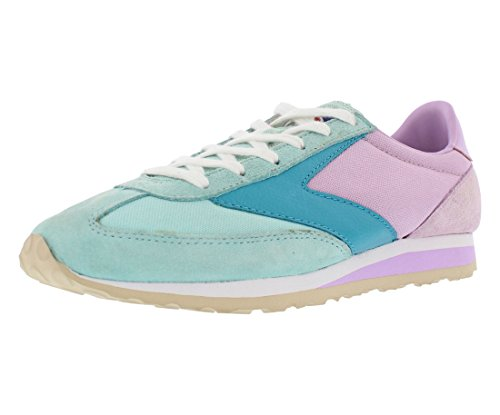 Brooks Women's Speed Varsity Vanguard Running Sneaker Clear Water/Orchid Boquet/Capri