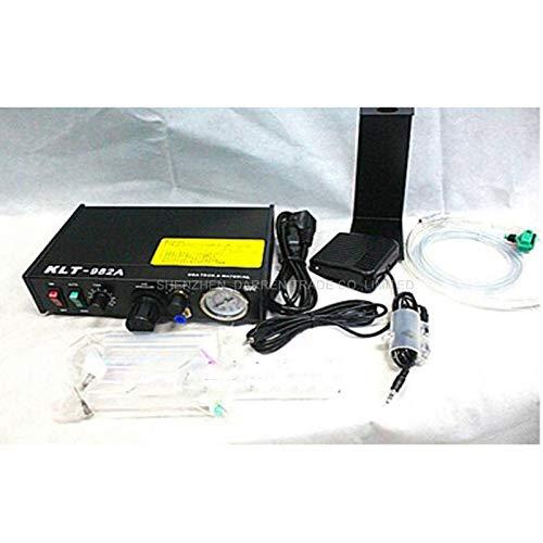 Jammas 110V/220V Automated Glue Dispenser Solder Paste Liquid Semi Automatic Dispensing Machine Controller Dropper KLT-982A
