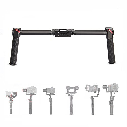 EACHSHOT Dual Handle Grip Handheld Handlebar Kit for Gimbal Zhiyun Crane Plus / Crane 2 / Crane V2 / Feiyu a1000 / a2000 / Gusen MOZA Air Aircross (Kit Gimbal)