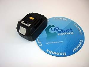 BL1815 18V Li-ion Replacement Battery for Makita Power Tools BL 1815, BL1830, BL 1830, LXT400. 18 Volt Lithium-Ion Battery 1500 mAh 1.5 AH - UpStart Battery brand