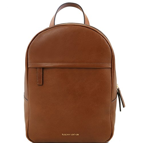 Tuscany Leather TL Bag Leather backpack for women Brown by Tuscany Leather