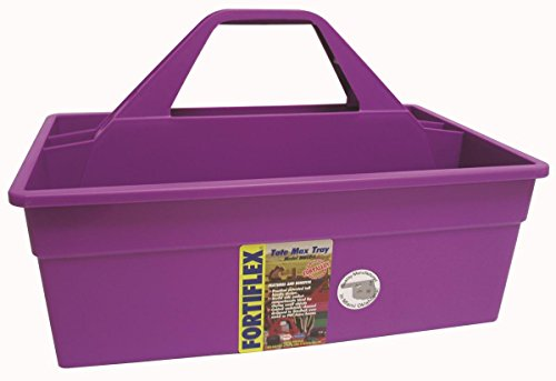 FORTEX INDUSTRIES 380613 Tote Max Purple, 17X11X11 ()