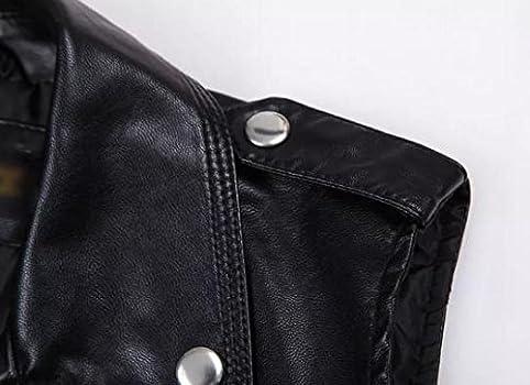 Black leather jacket asda