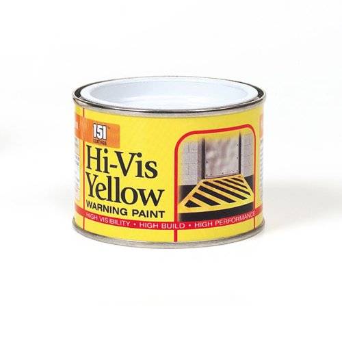151 Coatings Hi-vis Warning Paint, 180ml Yellow