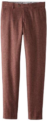 Moods of Norway Men's Vegard Flo Slim Suit Pant, Brown, EU 54 (US 37)
