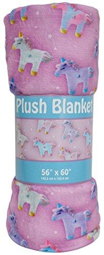- iscream 'Unicorns and Stars' Silky Soft Plush 56