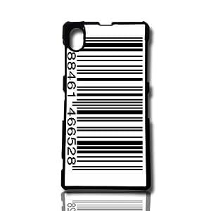 carcasa funda para movil compatible con sony xperia z2 codigo de barras