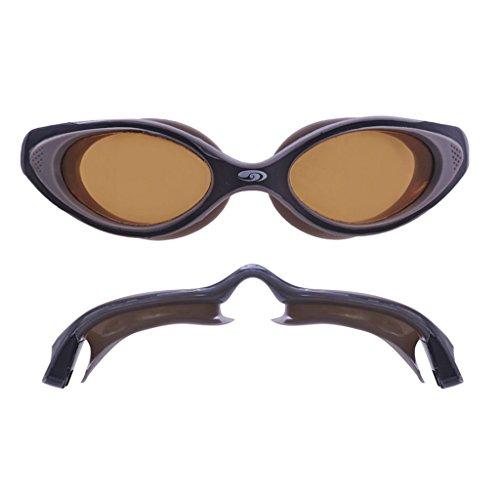 blueseventy Hydra Vision Goggles - Polarized Bronze Lens, Grey/Black Frame
