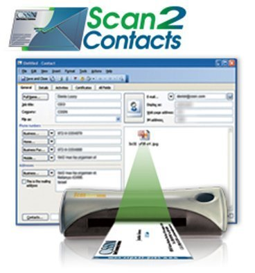 Amazon cssn portable business card scanner and reader cssn portable business card scanner and reader scan2contacts reheart Choice Image