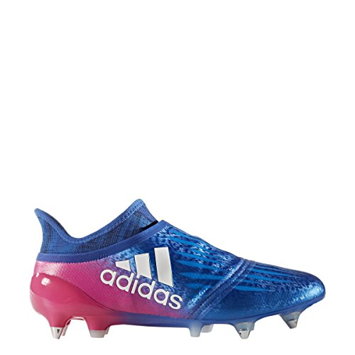 Adidas X 16+ Purechaos Sg Cleat Mens Calcio Blu-bianco-rosa Shock