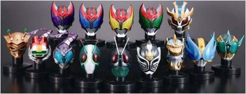 Kamen Masked Rider Mask Collection Vol.5 case of 8