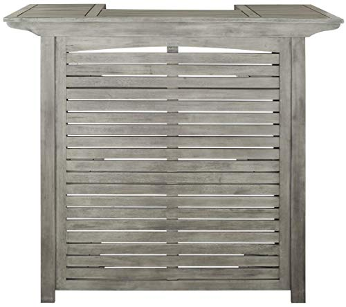 Safavieh Outdoor Living Collection Monterey Washed Bar Table Grey