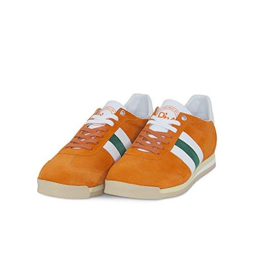 D'Acquasparta Scarpe Sneakers Chimera U250 Arancio Bianco