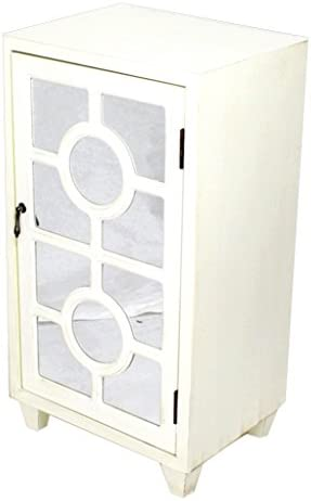 Heather Ann Creations Standing Single Drawer Distressed Cabinet