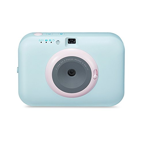 LG Pocket Photo Snap Instant Camera - Sky Blue (PC389S)