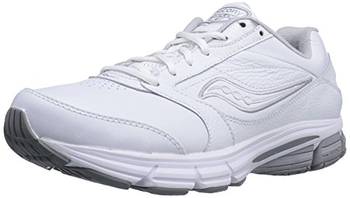 Saucony Mens Echelon LE2 Walking Shoe, Blanc, 42 D(M) EU/7.5 D(M) UK