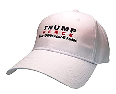 Trump Pence 2016 Campaign Make America Great Again Embroidered Hat