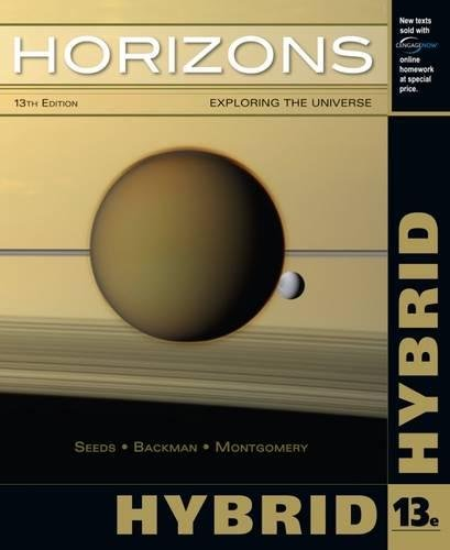 Horizons: Exploring The Universe, Hybrid (with CengageNOW Printed Access Card)