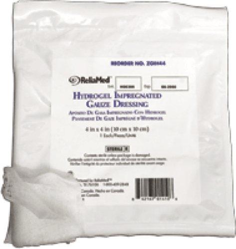 ReliaMed Sterile Hydrogel Impregnated Gauze Dressing 4