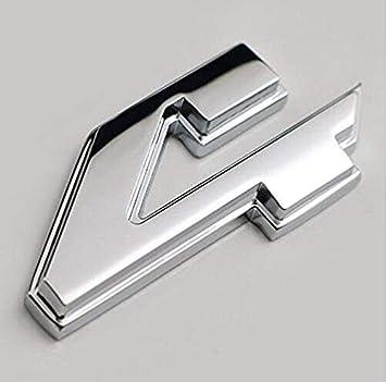 Wesport 3D ABS 4X4 Four-Wheel Drive Logo Premium Car Side Fender Rear Trunk Emblem Badge Sticker Decals Adapt to 4WD Black