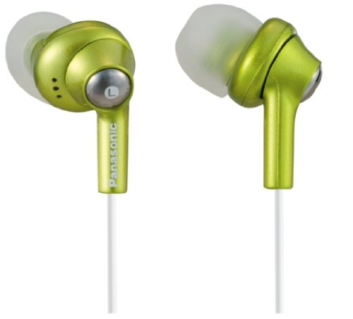 Panasonic RP-HJE280-G Inner Ear Earbuds w/Extension (Green), Best Gadgets