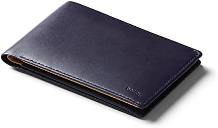 Bellroy Leather Travel Wallet Navy
