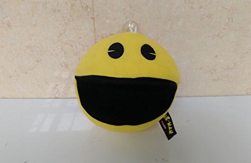 Pac Face Man (4pcs/Set - 16cm (6.3 inch) - Pixels Movie Plush Toys Children Pacman Dolls Stuffed Animals Smiling Face Plush Q Bert Pac-Man Toys Gift Stuffed Toys XPC)